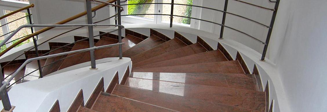 Treppen - Baubereich | G. HERRMANN Natursteinbetrieb